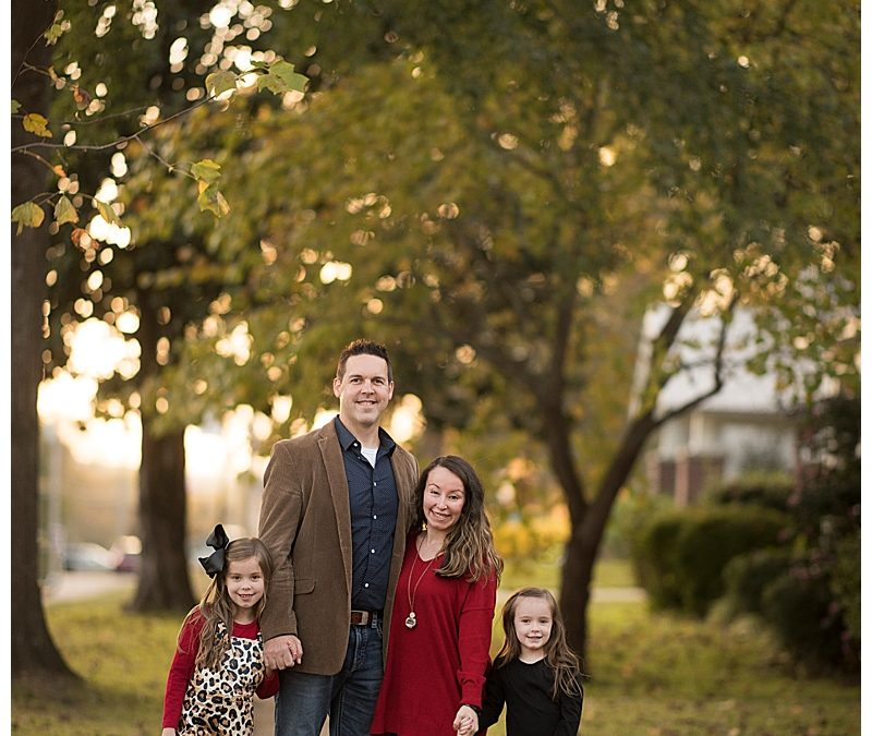 A Downtown Benton Family Session Session: Gramlich Family Edition